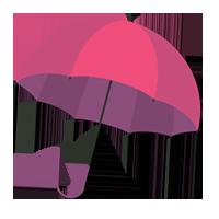 Under Landmark Umbrella